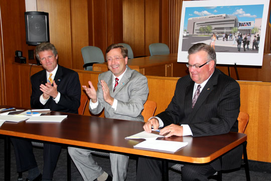 Naming Rights Title Sponsor Contract Signing Press Conference