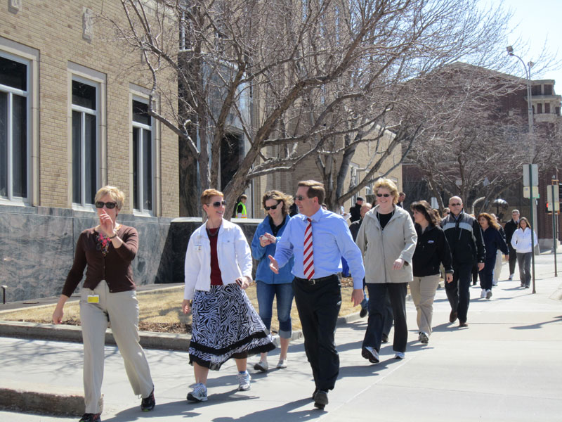 National Walking Day on April 3, 2013