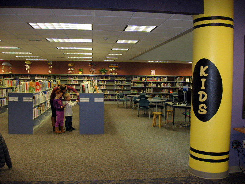 Entrance to Kids Area